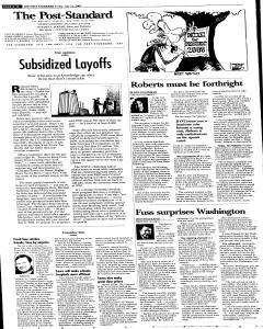 Syracuse Post Standard, July 22, 2005, Page 94