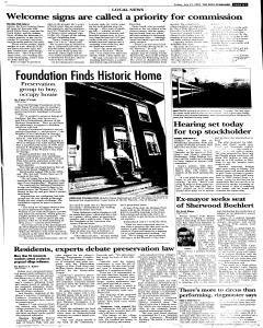 Syracuse Post Standard, July 22, 2005, Page 83