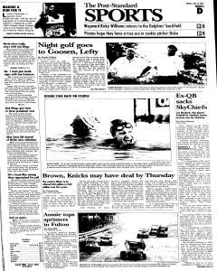 Syracuse Post Standard, July 26, 2005, Page 23