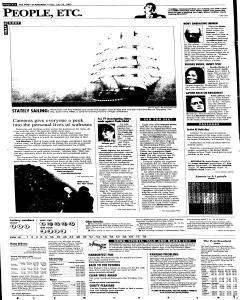 Syracuse Post Standard, July 29, 2005, Page 52