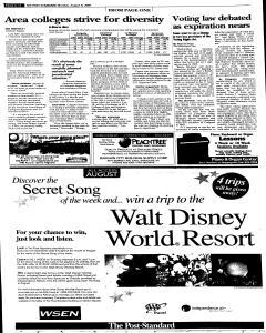 Syracuse Post Standard, August 08, 2005, Page 73