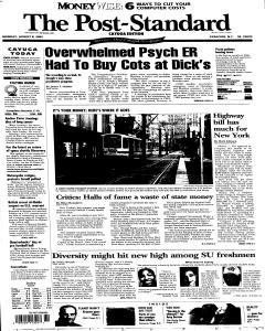 Syracuse Post Standard, August 08, 2005, Page 62