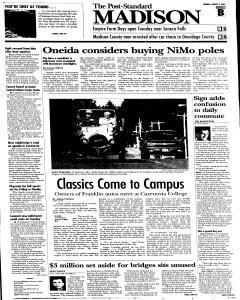 Syracuse Post Standard, August 08, 2005, Page 92