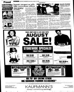 Syracuse Post Standard, August 10, 2005, Page 12
