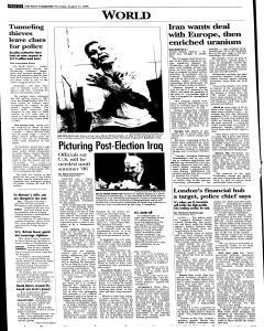 Syracuse Post Standard, August 11, 2005, Page 6