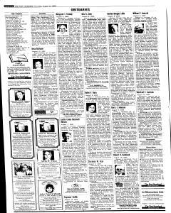 Syracuse Post Standard, August 11, 2005, Page 20