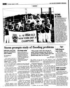 Syracuse Post Standard, August 11, 2005, Page 88