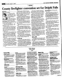 Syracuse Post Standard, August 11, 2005, Page 92
