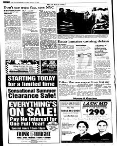Syracuse Post Standard, August 11, 2005, Page 278
