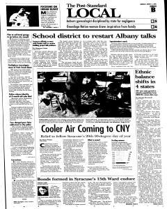 Syracuse Post Standard, August 11, 2005, Page 17