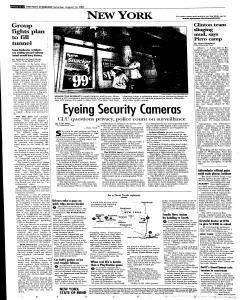Syracuse Post Standard, August 13, 2005, Page 4