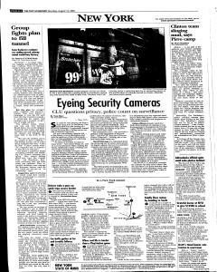 Syracuse Post Standard, August 13, 2005, Page 79