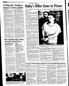 Syracuse Post Standard, August 13, 2005, Page 85