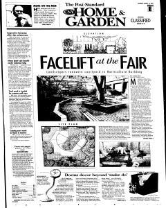 Syracuse Post Standard, August 13, 2005, Page 31