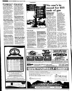 Syracuse Post Standard, August 14, 2005, Page 12