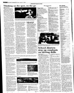 Syracuse Post Standard, August 15, 2005, Page 4