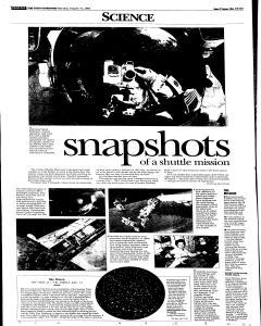 Syracuse Post Standard, August 15, 2005, Page 75
