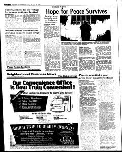 Syracuse Post Standard, August 15, 2005, Page 87