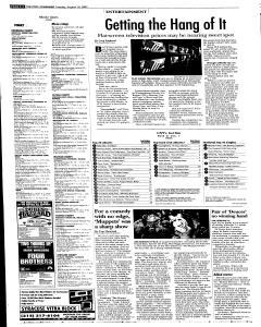 Syracuse Post Standard, August 16, 2005, Page 34