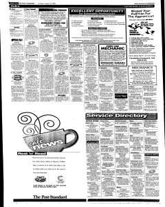 Syracuse Post Standard, August 16, 2005, Page 46