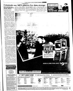Syracuse Post Standard, August 16, 2005, Page 51