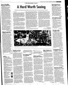 Syracuse Post Standard, August 16, 2005, Page 59