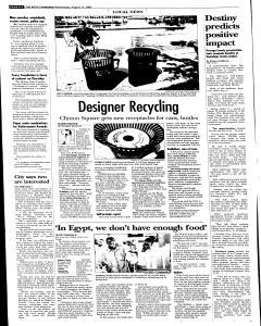 Syracuse Post Standard, August 17, 2005, Page 12