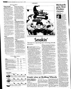 Syracuse Post Standard, August 17, 2005, Page 22