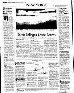 Syracuse Post Standard, August 17, 2005, Page 94