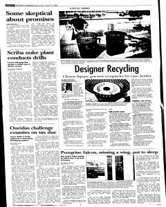 Syracuse Post Standard, August 17, 2005, Page 100