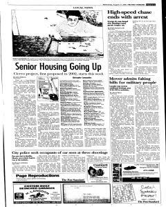 Syracuse Post Standard, August 17, 2005, Page 13