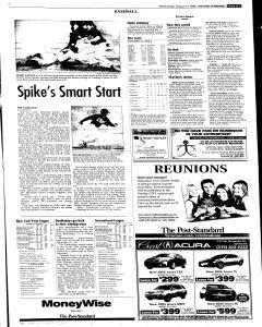 Syracuse Post Standard, August 17, 2005, Page 23
