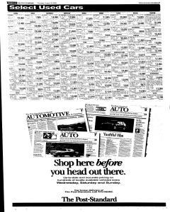 Syracuse Post Standard, August 18, 2005, Page 42
