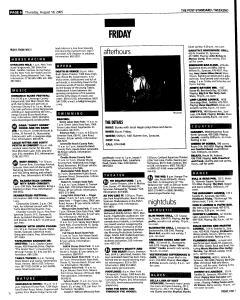 Syracuse Post Standard, August 18, 2005, Page 54