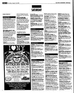 Syracuse Post Standard, August 18, 2005, Page 58