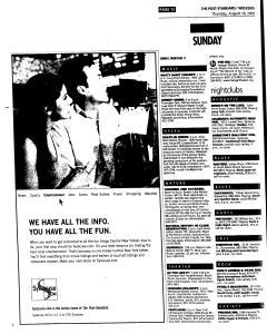 Syracuse Post Standard, August 18, 2005, Page 60