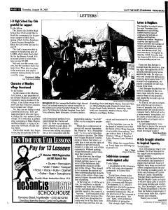 Syracuse Post Standard, August 18, 2005, Page 92