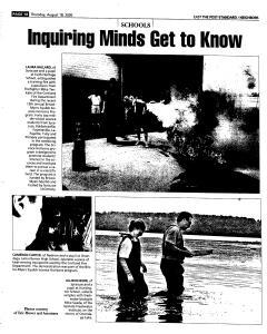 Syracuse Post Standard, August 18, 2005, Page 98