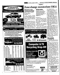 Syracuse Post Standard, August 18, 2005, Page 118