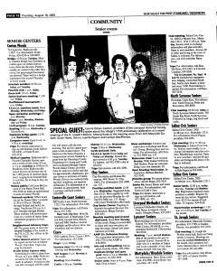 Syracuse Post Standard, August 18, 2005, Page 130