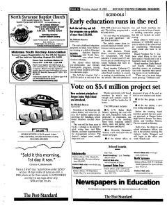 Syracuse Post Standard, August 18, 2005, Page 136
