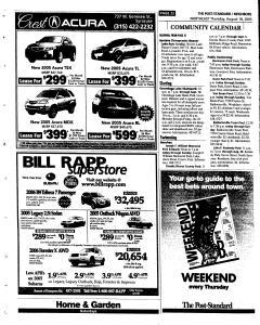 Syracuse Post Standard, August 18, 2005, Page 144