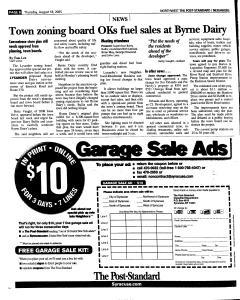 Syracuse Post Standard, August 18, 2005, Page 156