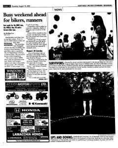 Syracuse Post Standard, August 18, 2005, Page 158