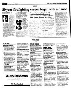 Syracuse Post Standard, August 18, 2005, Page 160