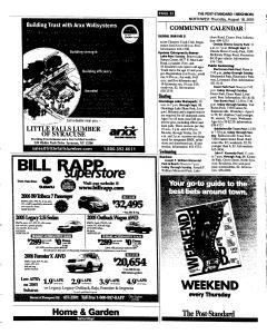 Syracuse Post Standard, August 18, 2005, Page 180