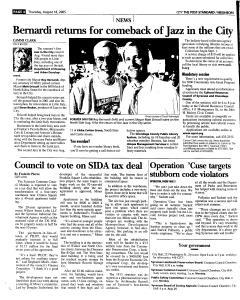 Syracuse Post Standard, August 18, 2005, Page 188