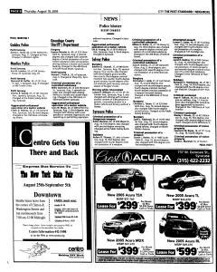 Syracuse Post Standard, August 18, 2005, Page 192