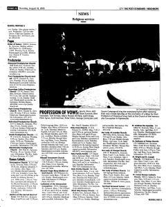 Syracuse Post Standard, August 18, 2005, Page 206