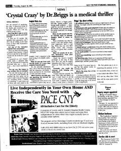 Syracuse Post Standard, August 18, 2005, Page 220